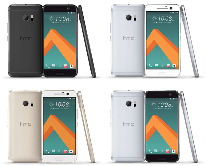HTC One M10 kleuren