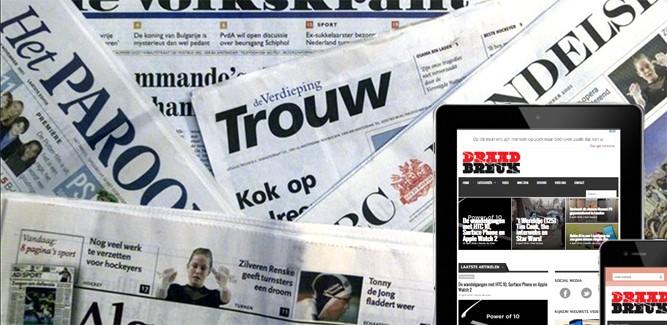 Gratis iPad bij krant? NRC Handelsblad verdient gewoon aan je