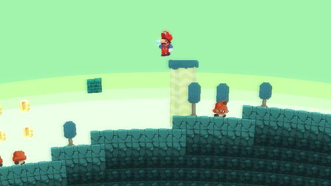 Het lijkt er wel op dat Mario een nogal heftig auto-ongeluk heeft gehad...
