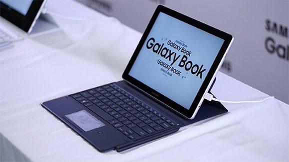 Samsung Galaxy Book is een tablet en laptop in één. Goh. (video)