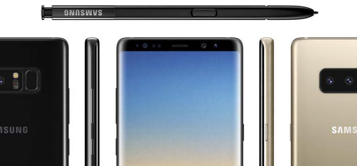 Samsung Galaxy Note 8 foto's gelekt