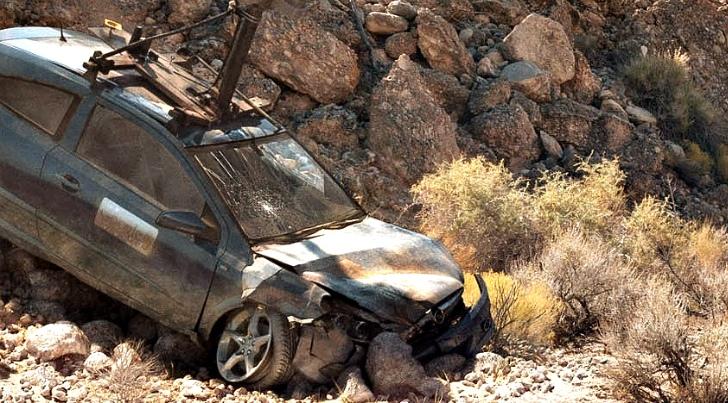 Google-auto's crashen bij de vleet. Dit is een ander exemplaar