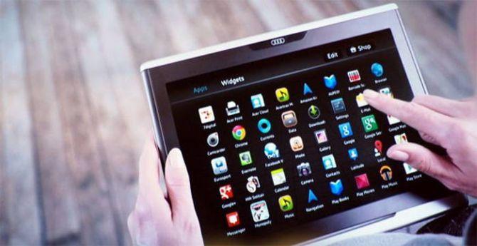 Een autofabrikant die tablets maakt: wij moeten het nog zien
