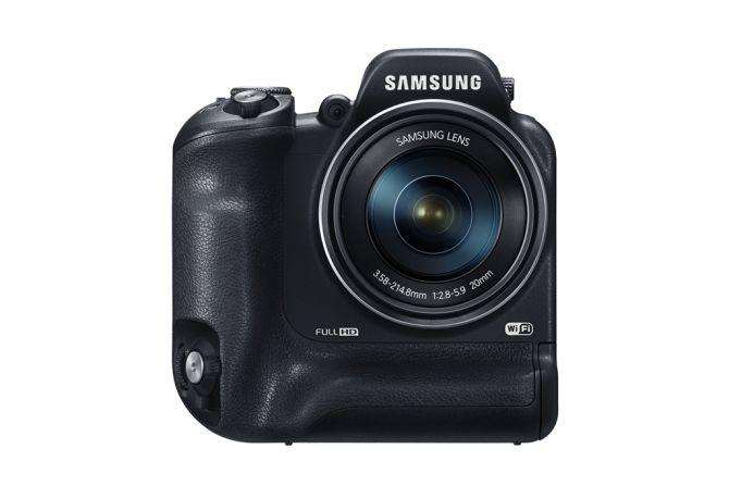 Samsung WB2200F: groot is het nieuwe compact