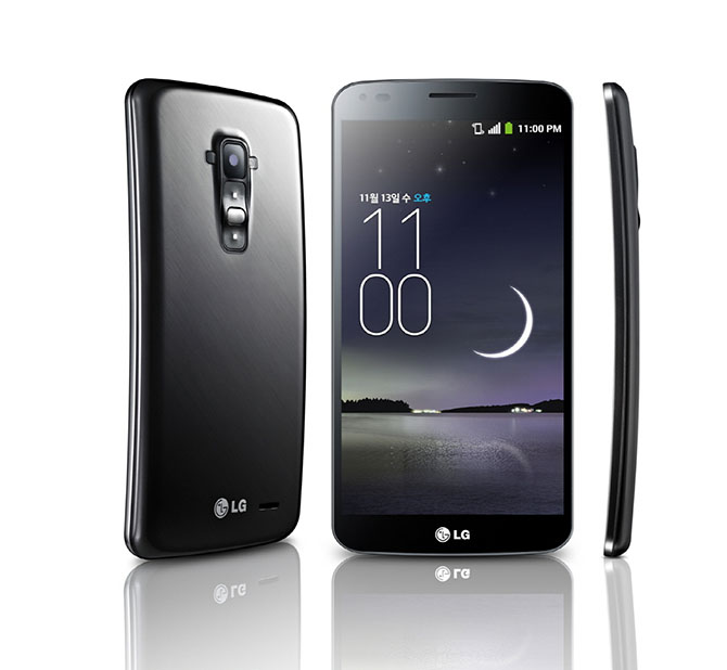 G Flex smartphone