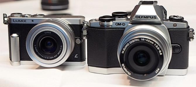 Panasonic DMC-GM1 vs Olympus OMD-EM10