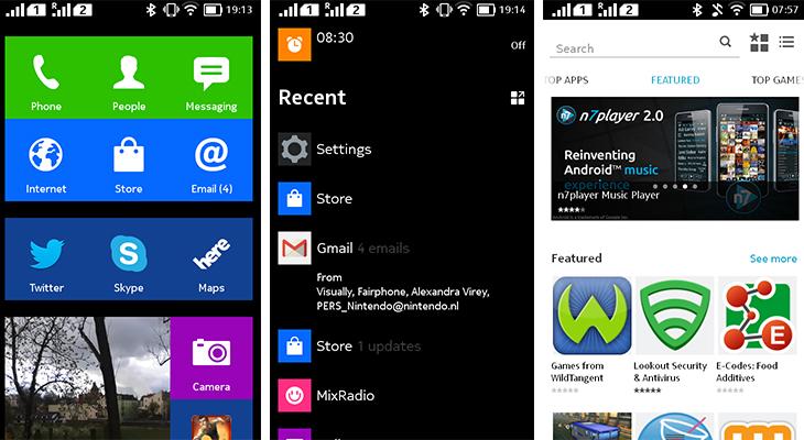 Nokia X screenshot | Draadbreuk.nl