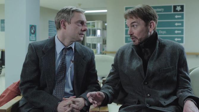 Lekker in de koffiehoek de laatste aflevering van Fargo bespreken