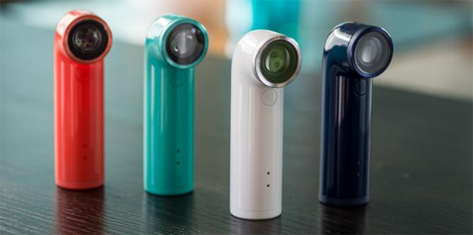 HTC RE is verkrijgbaar in wit, groen, blauw en oranje....nee, 'coral'.