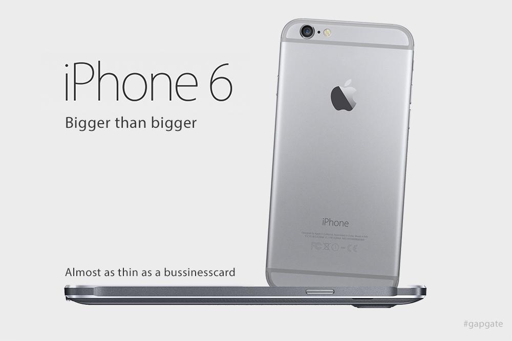 Apple's beurt om te lachen en te wijzen. Als wij daar werkten, zouden we dat zo doen.