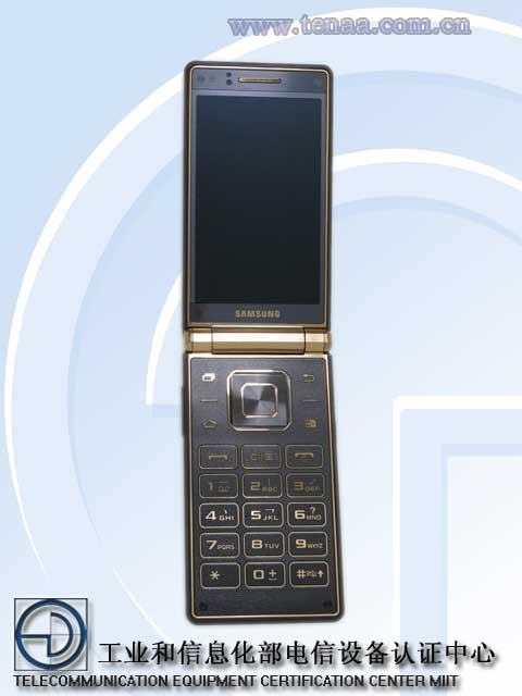 Dit is de Samsung Galaxy Golden 2. Hondslelijk, niet? (Foto via http://www.sammobile.com)