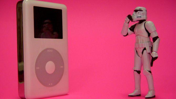 Als ze Star Wars nieuw leven in kunnen blazen, moet dat met de iPod ook wel lukken.