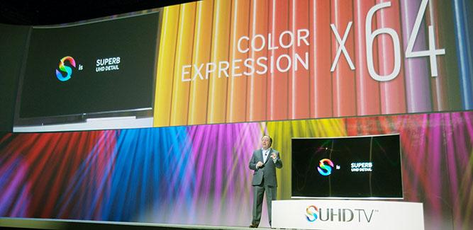 Samsung SUHD tv CES 2015