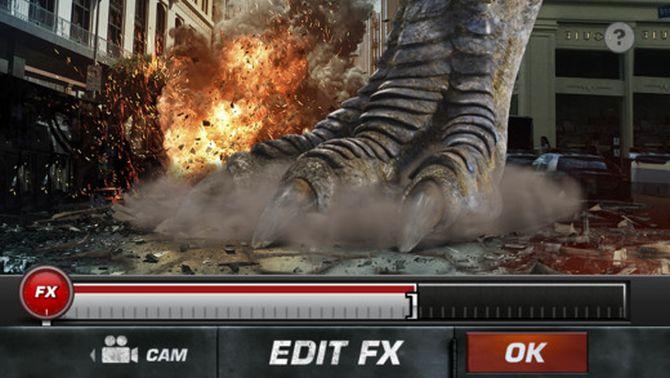 Action Movie FX: en zo loopt er ineens een Tyrannosaurus Rex door je tuin