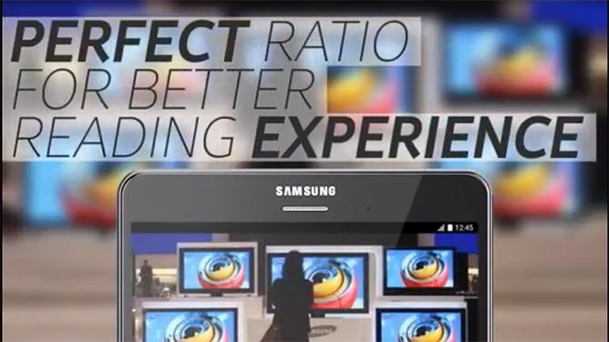 Wow, nu kan ik perfect lezen waarom Samsung zuigt! Dankjewel Samsung!
