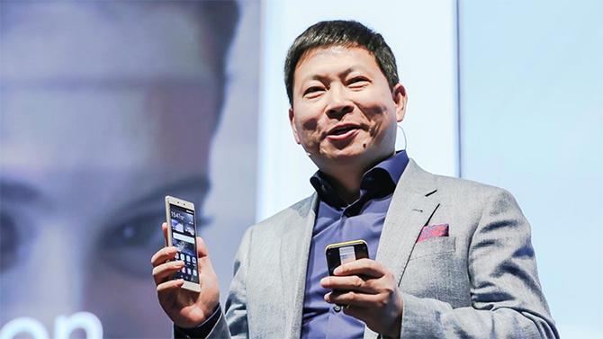 Een willekeurig mannetje van Huawei.