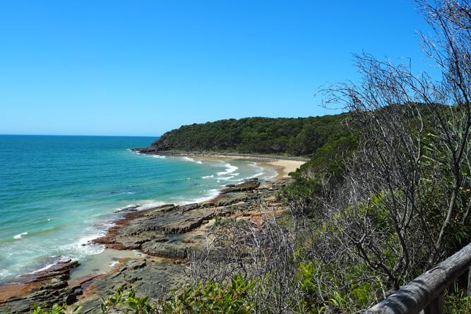 Zomaar een kust in Australië. Weinig mis, mee.