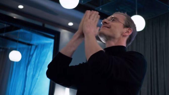 Wel handig: je hoeft niet te kunnen acteren, maar trek een coltrui aan en je bent Steve Jobs