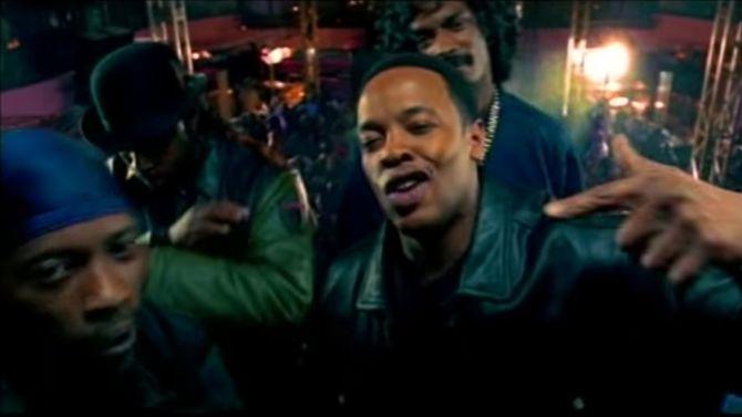 In zijn videoclips had Dr. Dre al losse handjes
