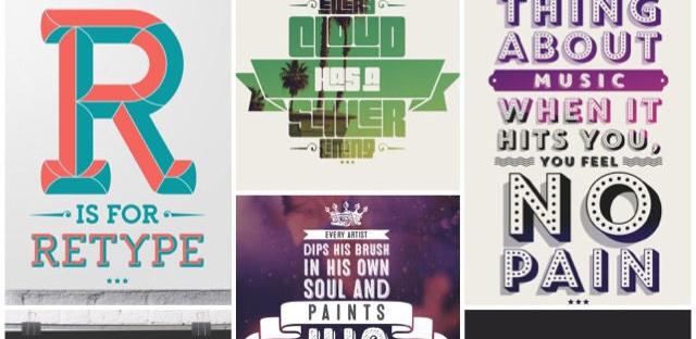 Coole fonts draaien je foto's in een handomdraai om in iets hips