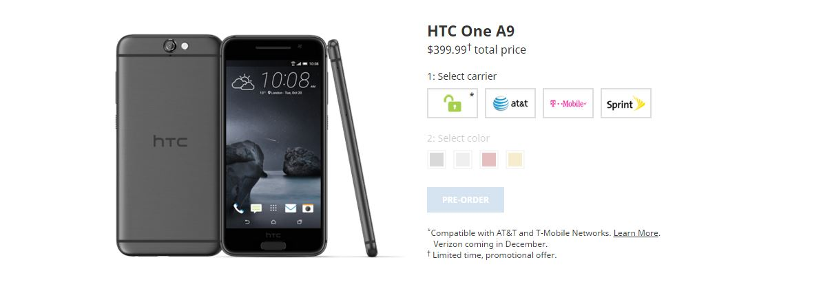 Niet eerlijk HTC. NIET EERLIJK!