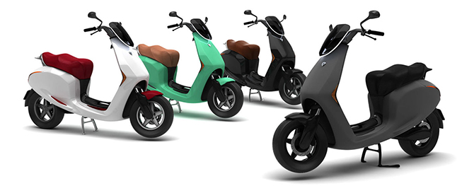 Bolt e-scooter vier kleuren