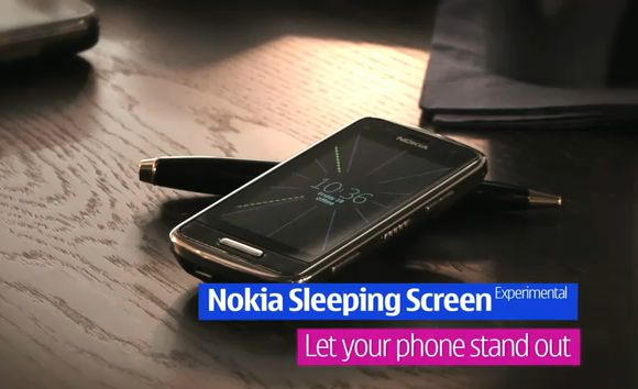Nokia always on screen