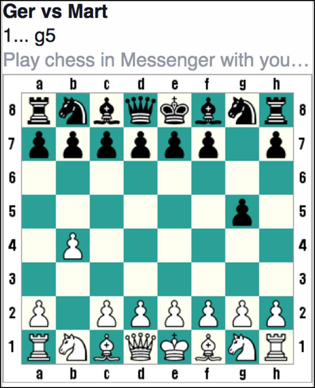 Is Garri Kasparov dit ook aan het doen?