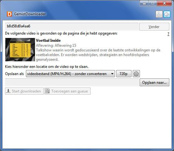 RTL XL kijken in het buitenland - gemistdownloader 2