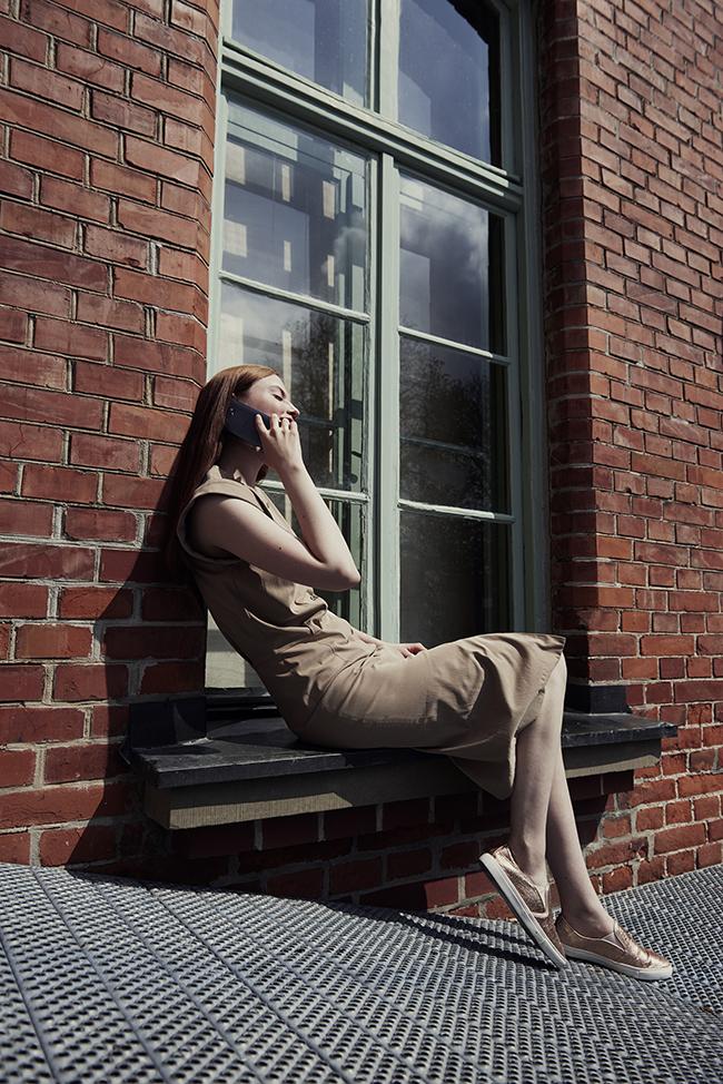 HTC 10 op vensterbank
