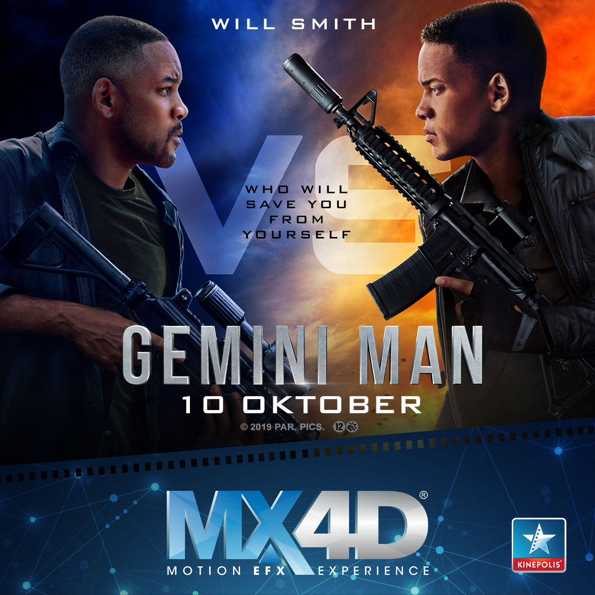 gemini man MX4D